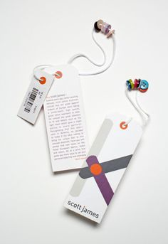 Branding by Liz Montgomery, via Behance Interesting idea for a book mark craft