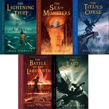 Percy Jackson - - really clever series
