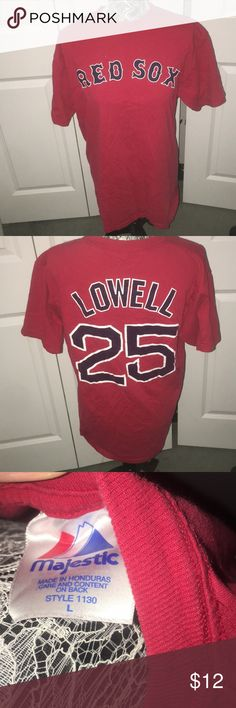 e93c526f8 Mike Lowell Red Sox shirt I m very good worn condition. Mike Lowell shirt