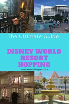 Guide to Disney World Resort Hopping. Disney World Resort Hopping is an increasingly popular way to spend a day away from the parks at Walt Disney World. Read our tips and experiences.