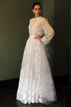 Simple Bridal Fashion Temperley Spring we love