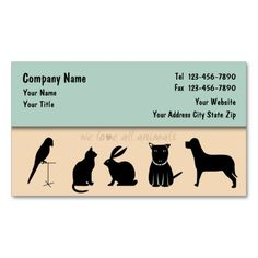 Pet Care Business Cards Fixed. I love this design! It is available for customization or ready to buy as is. All you need is to add your business info to this template then place the order. It will ship within 24 hours. Just click the image to make your own!