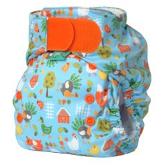 Easy Fit Diaper HOOK & LOOP from Bummis. One of my FAVORITE cloth diapers of all time.
