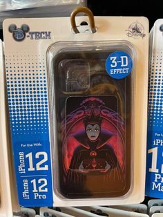 New Disney Villains Phone Cases Will Add An Evil Touch To Your Phone! Pet Raven, Disney Phone Cases, Fairest Of Them All, Magic Mirror, Florida Home, Disney Villains, Maleficent, Disney Style, 3 D