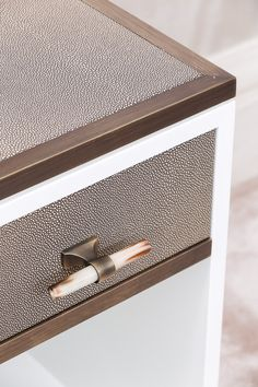 DETAIL - Soft, contemporary bedside table