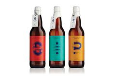 Small Batch Beer Packaging - The Swansea Brew Club Packaging Matches the Quality Ingredients (GALLERY) Beverage Packaging, Bottle Packaging, Brand Packaging, Design Packaging, Coffee Packaging, Packaging Ideas, Food Packaging, Branding Design, Craft Beer Brands