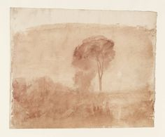 Artwork page for 'Landscape, with Distant Mountains', Joseph Mallord William Turner, Abstract Landscape Painting, Watercolor Landscape, Landscape Art, Landscape Paintings, Watercolor Trees, Watercolor Paintings, Turner Artworks, Turner Watercolors, List Of Paintings