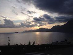 Vista da Praiano. Amo la costiera Amalfitana.