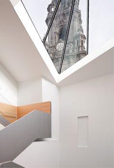 Manuel Gallego. Museo de las Peregrinaciones y de Santiago. Fotografía: Elisa Gallego.   #tc_arquitectura #architecture_publication #spanish_architects