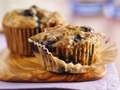 Oatmeal Whole Wheat blueberry muffin.  Possibly make those muffins I love a tad bit healthier.