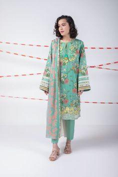 Lime Light pelouse Design brodé Stitched Salwar Kameez Summer Clearance £ 25