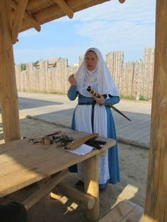 Мой мастер класс для барышень  Парк Киевская Русь 2012