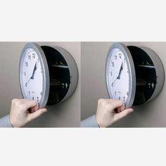 Security Box - Wall Clock Metal Detector, Gears, Clock, Box, Wall, Watch, Snare Drum, Gear Train, Detector De Metal