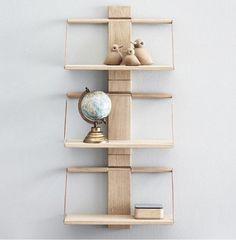 Wood wall hylle, Eik - designerhome.no A Shelf, Wood Wall, Floating Shelves, Woods, Wallet, Furniture, Design, Home Decor, Style