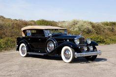 1932 Packard 902 Standard Eight Dual Cowl Sport Phaeton