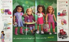 From the 2011 American Girl holiday catalog