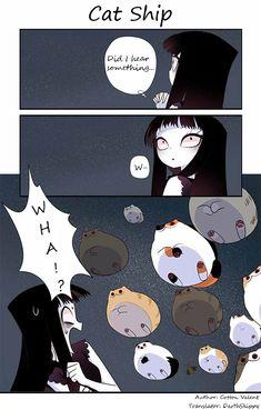 Creepy Cat Chapter 62: Cat Ship page 1 - M.MangaBat.com