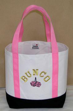 BUNCO Tote Bag via Etsy.