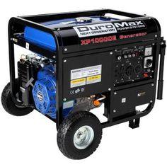 DuroMax 10000 Watt Portable Gas Electric Start Generator RV Home Standby Electric Start Generator, Gas Powered Generator, Power Generator, Inverter Generator, Best Portable Generator, Camping Generator, Home Depot, Generators For Home Use, External Lighting