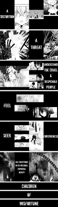 """A distortion, a threat..."" 