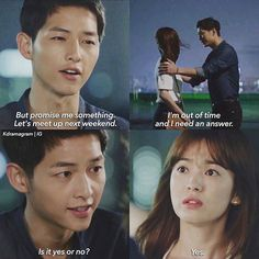 Instagram media by descendants.ofthe.sun - Episode 1 Romantic yet a heartbreaking ending ©kdramagram