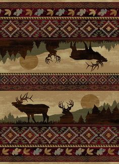 Tayse Rugs Nature 6595 Red