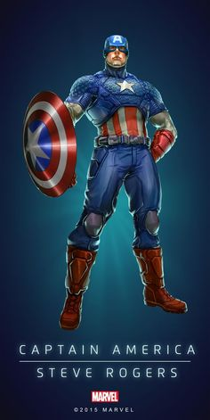 "Marvel Comics: Captain America ""Steve Rogers"""