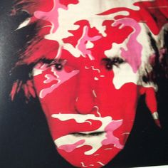 Andy Warhol in Camo
