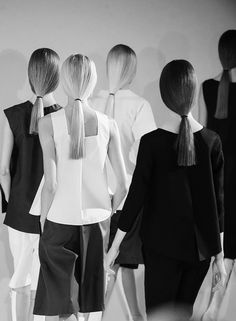 Chic Minimalist Tailoring - minimal fashion // Jil Sander Spring 2013