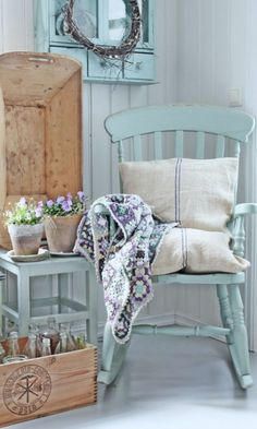 tranquil blue decor