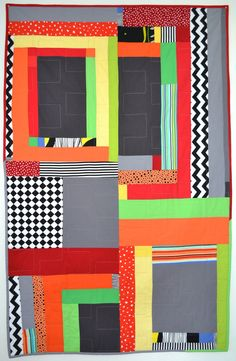 Funhouse 5 quilt by JaffWorks