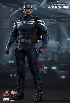Figura Capitán América 30 cm. Escala 1/6. Capitán América: El Soldado de Invierno. Hot Toys Espectacular figura del héroe El Capitán América de 30 cm de altura, 100% oficial, licenciada y totalmente articulada que hará las delicias de todos su incondicionales fan.