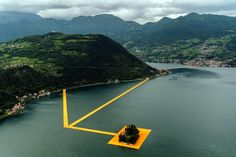 Christo's Newest Project: Walking on Water - NYTimes.com