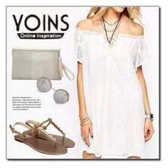 """""""YOINS.com"""" by monmondefou ❤ liked on Polyvore featuring Cutler and Gross and yoins"""