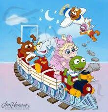 Muppet Babies original 1984 photo transparency Mupets on train Muppet Babies, Jim Henson, Old Cartoons, Princess Peach, Disneyland, Family Guy, Animation, The Originals, Prints