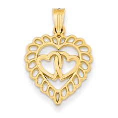 10k Yellow Gold Pave Diamond Cut Apple Fruit Pendant Small Tiny Fashion Charm To Rank First Among Similar Products Jewelry & Watches Other Wedding Jewelry