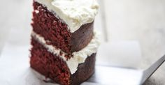 Red velvet cake van Menno (Heel Holland Bakt)