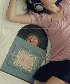 Sometimes you just have to lie down and listen to good music......
