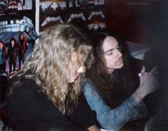 """james-kirk-lars-cliff: """"James and Cliff signing records. MOP ERA """""""