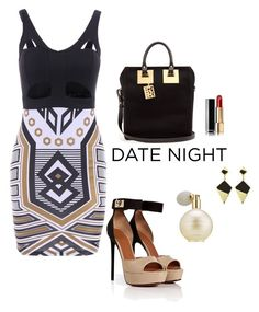 """""""Date Night 2"""" by carolortiz ❤ liked on Polyvore featuring Sophie Hulme, Chanel, Givenchy and Estée Lauder"""