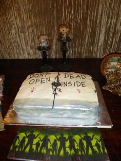 The Walking Dead Birthday Party Ideas Birthday party ideas Zombie