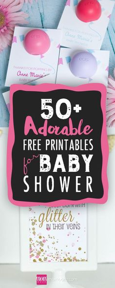 Planning a baby shower? One of these FREE printables will come in handy! #babyshower #freestuff #printables #pregnancy #showerparty #genderreveal www.momooze.com/