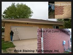 Brick Staining By Brickimaging Residential Brick