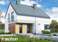 Dom w malinówkach 6 Home Fashion, Garage Doors, House Styles, Outdoor Decor, Flooring Ideas, Attic, Design, Home Decor, Garden