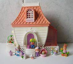 Anyone remember charmkins?  I had this house, and I LOVED it!!! 80's toys