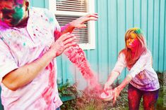 Crazy color engagement shoot. Gonna have to run this by the fiance. I have a feeling he's in. :)