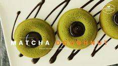 녹차 티그레 만들기, 말차 도넛 : Baked matcha green tea doughnut Recipe : 抹茶ドーナツ : 茶甜...