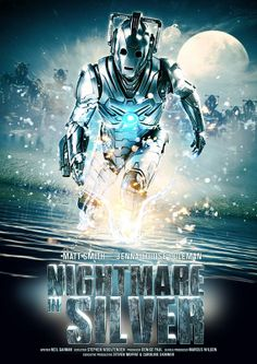 DW challenge day 12 episode that scared you the most: Nightmare in Silver. The Empty Child also scared the heck of of me but...I'm terrified of robots so...