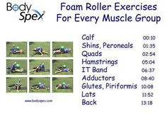 My first experiment with foam rolling! Love it and hate it. Seems to help with knee pain, though.