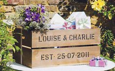 personalized gift card crate
